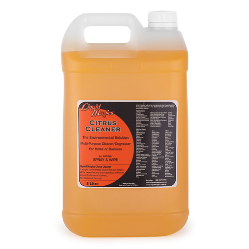 Liquid Magics Citrus Cleaner Concentrate 5 Litre